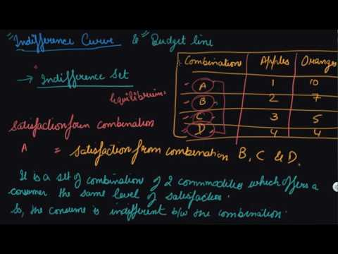 Indifference Curve and Properties Consumer Equilibrium and Demand | Class 12 Microeconomics