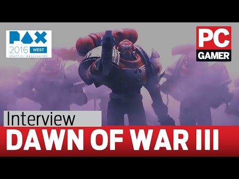 Dawn of War 3's orbital laser might be the prettiest RTS ability ever | PC Gamer