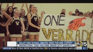 "Verrado High School ""Roar"" video features cheerleader Video"