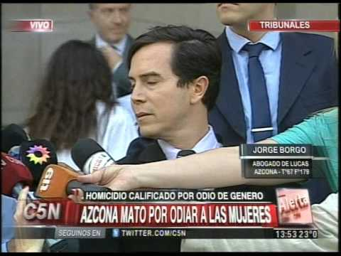 C5N - CRIMEN DE NICOLE PROCESARON A LUCAS AZCONA