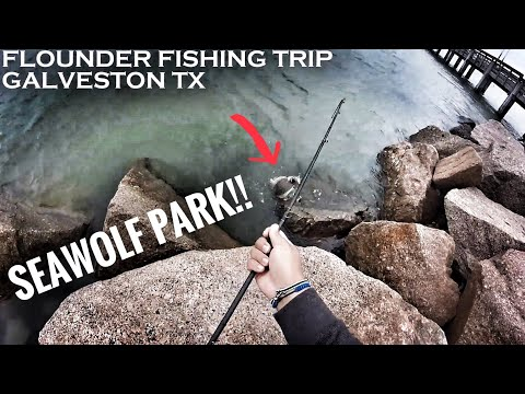 Flounder Fishing Galveston, TX