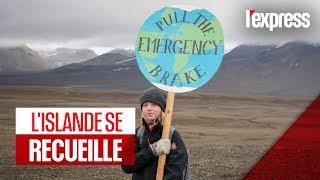 Islande : une plaque commémorative en mémoire d'un glacier