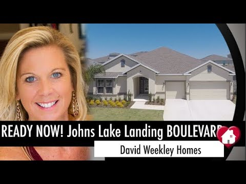 New Homes Winter Garden Clermont Boulevard Inventory Home by David Weekley