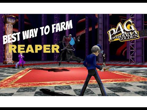 How to Farm Reaper - Persona 4 Golden PC |