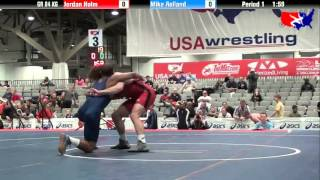 Jordan Holm vs. Mike Rolland at 2013 Las Vegas/ASICS U.S. Open