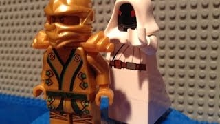 LEGO Ninjago Rebooted Custom White Pythor Minifigure