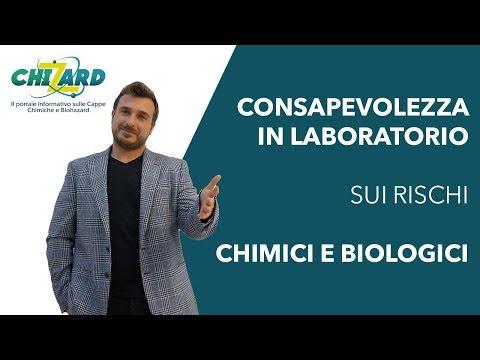 Consapevolezza in laboratorio sui rischi chimici e biologici