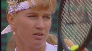 Steffi Graf vs Jana Novotna 1990 RG SF Highlights