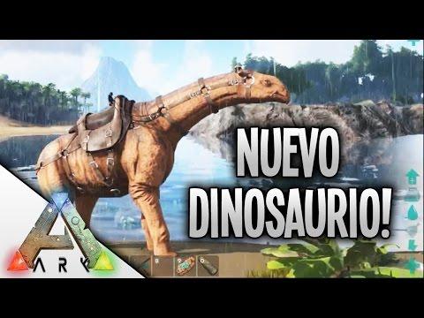 NUEVO DINOSAURIO, EL PARACERATHERIUM | VILLATUBER EN ARK #12 | BraxXter