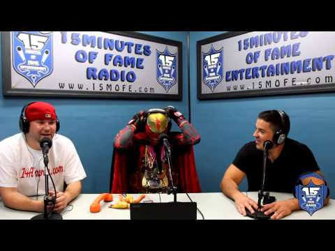 Captain Bayonne - Bayonne, NJ's Super Hero Unleashed Interview with the 14A Sports Crew