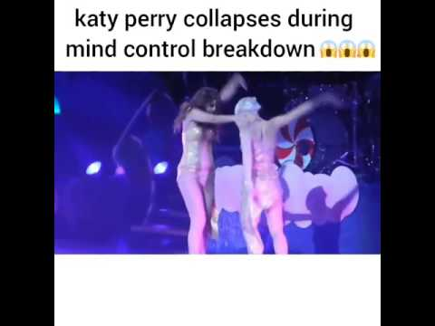 Katy Perry Collapses During Mind Control Breakdown , | Crazy |