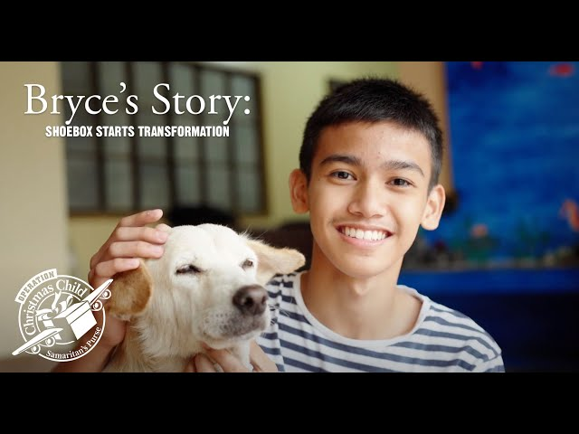 Bryce's Story: Shoebox Starts Transformation