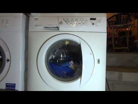 Zanussi Progress Jet System ZWF1437 : Cotton Extra Quick wash : inter spin 850rpm (pt 3 of 7)