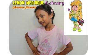 Strawberry shortcake Lemon Meringue - Coloring