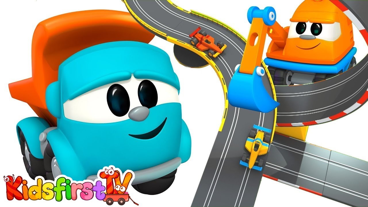 Leo The Truck Animation For Kids And Construction Cartoon Leo