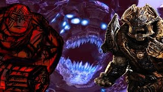 PLAYING AS SAVAGE BOOMER, PALACE GUARD AND BRUMAK! (Gears of War 3) Gameplay With Ex Ghoal Army!