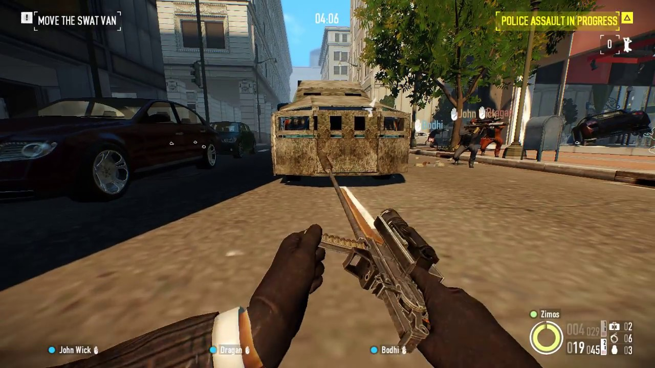 Payday 2 Tooth Claw Build Hoxton Breakout Day 1 Gameplay One
