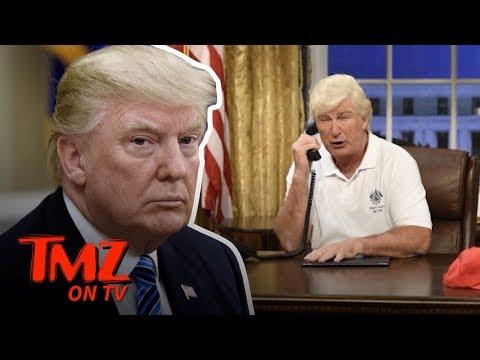 "Trump Tweets at ""Alex"" Baldwin!   TMZ TV"