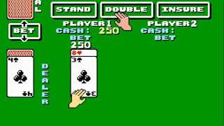 Blackjack (NES) Speedrun in 0:09
