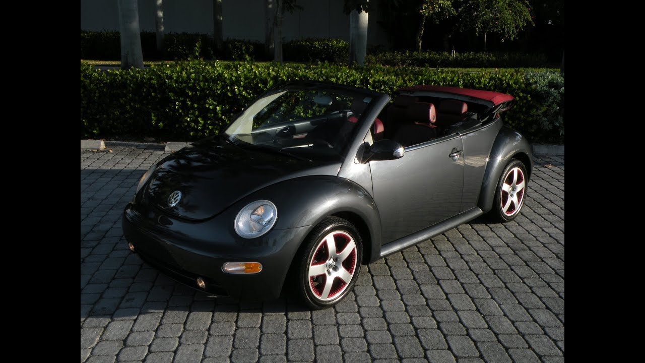 2005 Volkswagen New Beetle Dark Flint Edition For Sale