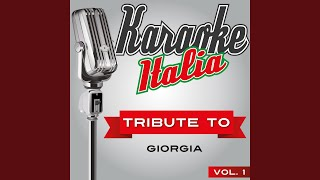 Come saprei (Karaoke Version Originally Performed by Giorgia)