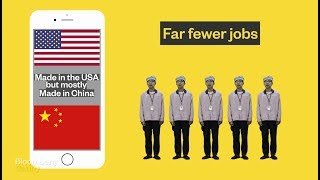 Video Why the iPhone Can't Be Made in the US download MP3, 3GP, MP4, WEBM, AVI, FLV Agustus 2018