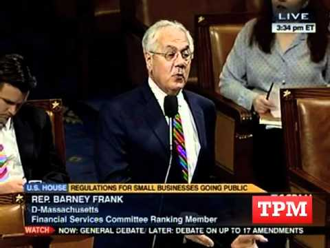 Barney Frank Booted From House Floor Over Spat With GOP