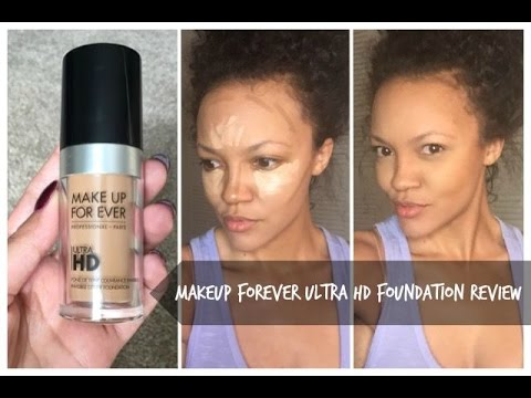 Make Up For Ever Ultra Hd Foundation Review Almond You