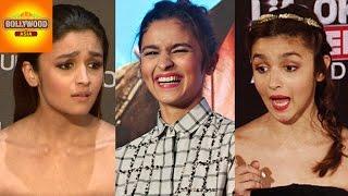Alia Bhatt's 2015 STUPID Reactions To Media  | COMPILATION