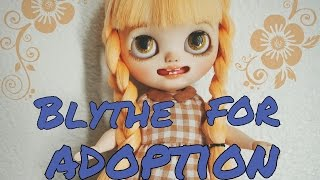 She has been adopted. This little girl has found a new Mommie to go...