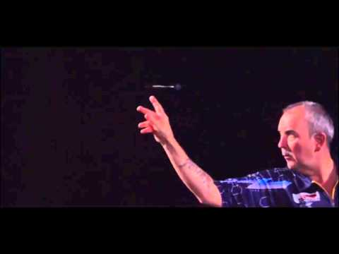 Phil Taylor Throw In Slow Motion Courtesy Of Target Darts