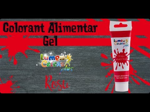 Colorant Alimentar Gel Lumea Colors Plus Rosu