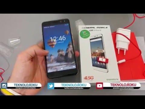 General Mobile GM 5 Plus Kutu Açılış Videosu (Unboxing)