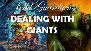 Dealing with Giants (Hearthstone Rise of Shadows Deathrattle Hunter gameplay)