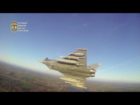 Baltic Air Police. Eurofighter españoles en el Báltico
