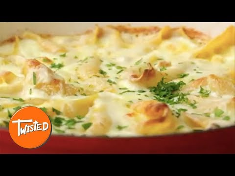 How To Make Camembert Pasta Shells | Cheesy Pasta Bake | Twisted