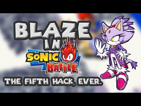 The Fifth Sonic Battle Graphics Hack EVER.