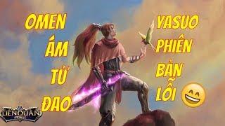 Sự Thật Đằng Sau Câu Chuyện Omen và Lindis - Omen Ám Tử Đao hiệu ứng siêu ngầu | VietClub Gaming