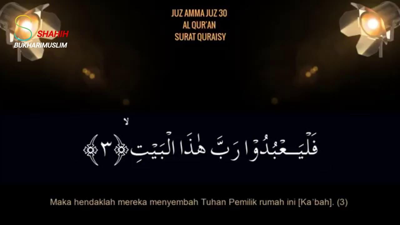 SURAH QURAISY -ustadz Hanan Attaki