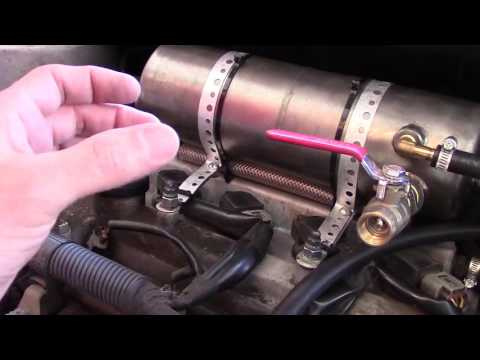 Gasoline Evaporator With Wick Pre-Combustion Vapor Chamber - From 29 MPG to 43 MPG