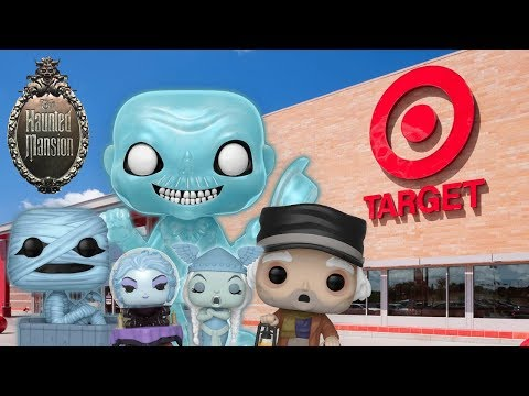 Haunted Mansion 50th Anniversery Funko Pop Hunting!