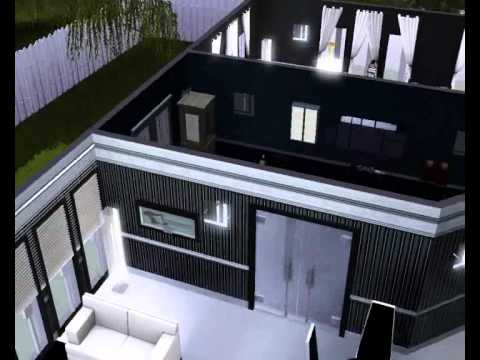 The sims 3 casa moderna youtube for Casa moderna 9 mirote y blancana