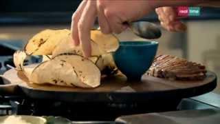Cucina con Ramsay # 36: Tacos di manzo con maionese al Wasabi