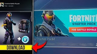 ROGUE AGENT STARTER PACK RELEASE DATE CONFIRMED! Fortnite Battle Royale Rogue Starter Pack UNLOCKED