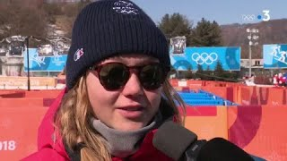 JO 2018 : Ski acrobatique - Slopestyle femmes / Tess Ledeux :