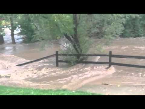 Flood in Superior, CO