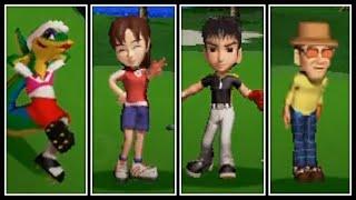 Hot Shots Golf 2  Gex vs Kumi vs Ryo vs Suzuki