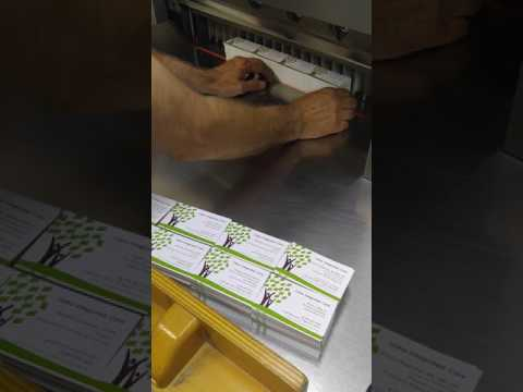 Cutting Business Cards - Burlington Press