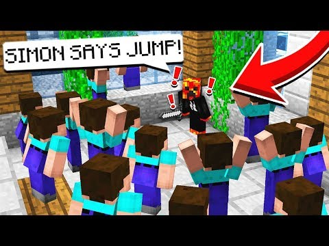 SIMON SAYS IN MINECRAFT MURDER MYSTERY!