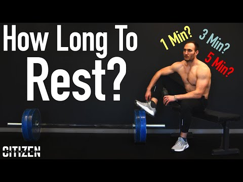 How Long To Rest Between Sets: What Research Says - The Science Of Training